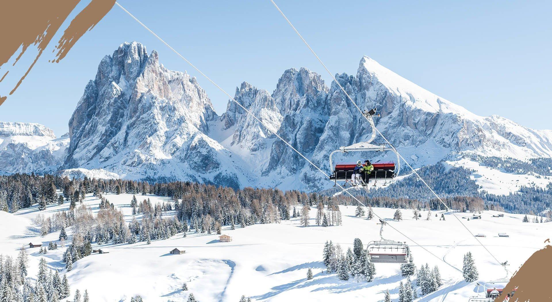 Skiurlaub in Kastelruth direkt am Skigebiet Seiser Alm & Gröden